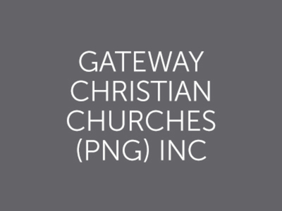 Gateway Christian Churches (PNG) Inc